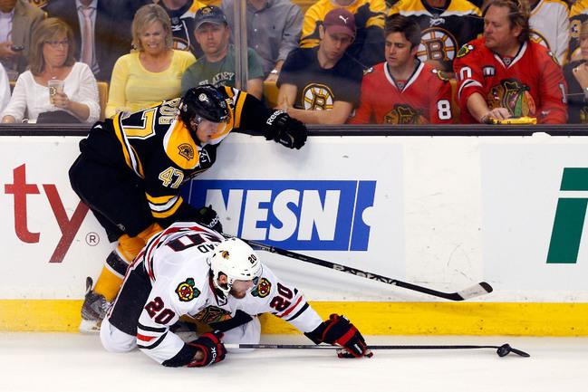 """Понедельник. Бостон. Защитник """"Бостона"""" Тори КРУГ. Фото AFP Фото AFP"""