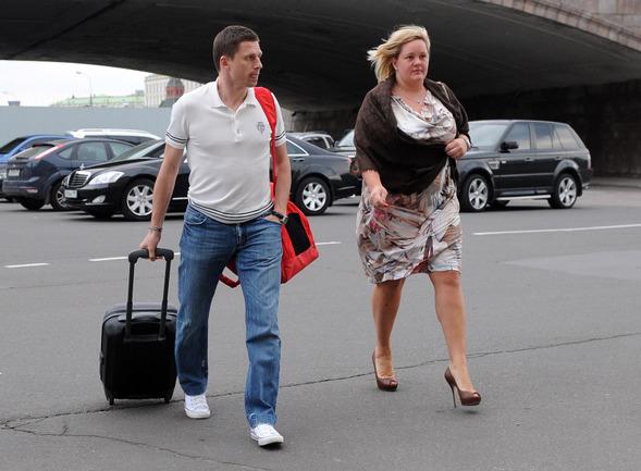 Игорь семшов с женой фото