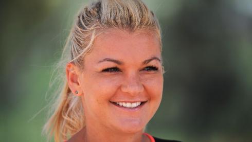 Польская теннисистка Агнешка РАДВАНСКА. Фото AFP Фото AFP