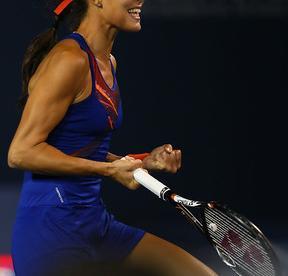 Сербская теннисистка Ана ИВАНОВИЧ. Фото AFP Фото AFP