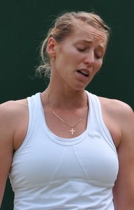 Российская теннисистка Ольга ПУЧКОВА. Фото AFP Фото AFP