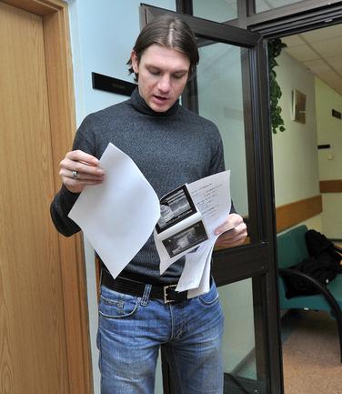"""Экс-капитан """"Зенита"""" Алексей ИГОНИН. Фото Алексея ИВАНОВА, """"СЭ"""" Фото «СЭ»"""