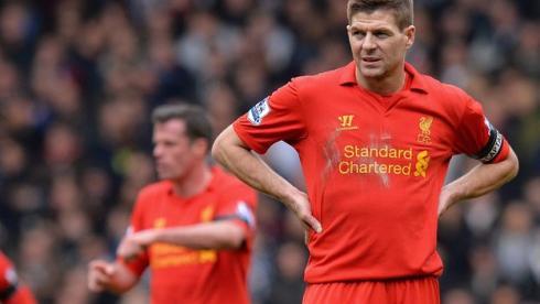 "Капитан ""Ливерпуля"" Стивен ДЖЕРРАРД. Фото AFP Фото AFP"