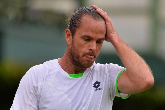 Бельгийский теннисист Ксавье МАЛИСС. Фото AFP Фото AFP