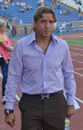 Бывший нападающий сборной России Сергей ЮРАН. Фото Алексея ВЬЮГИНА