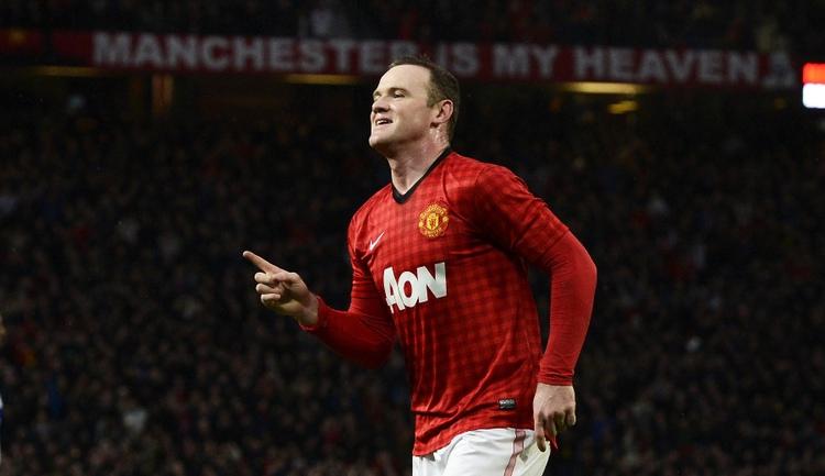 """Нападающий """"Манчестер Юнайтед"""" Уэйн РУНИ. Фото REUTERS Фото Reuters"""