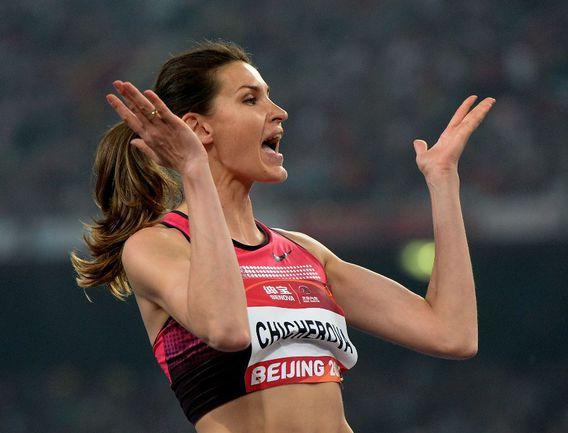 Олимпийская чемпионка Анна ЧИЧЕРОВА будет выступать на чемпионате мира без своей главной конкурентки. Фото AFP Фото AFP