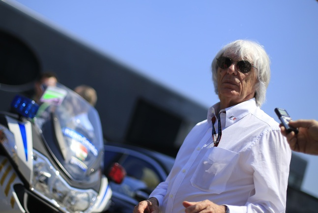 """Руководитель """"Формулы-1"""" Берни ЭККЛСТОУН. Фото AFP Фото AFP"""
