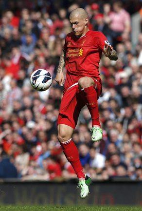 """Защитник """"Ливерпуля"""" Мартин ШКРТЕЛ. Фото REUTERS Фото Reuters"""