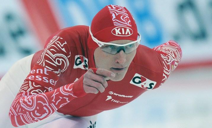 Российской конькобежец Иван СКОБРЕВ. Фото AFP Фото AFP