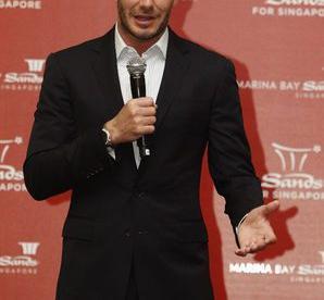 Бывший капитан сборной Англии Дэвид БЕКХЭМ. Фото REUTERS Фото Reuters