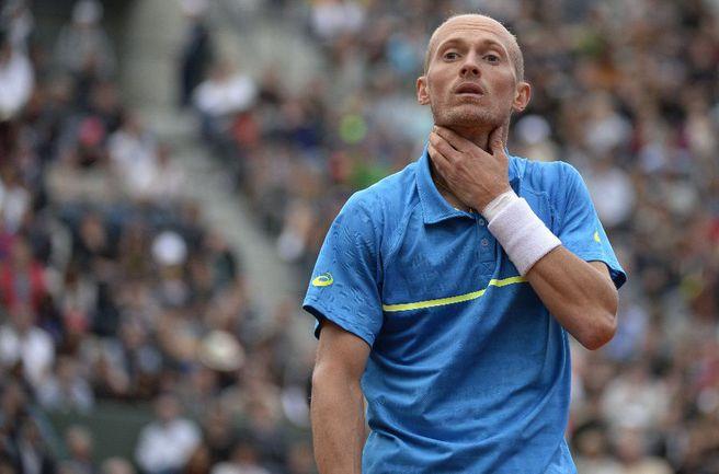Российский теннисист Николай ДАВЫДЕНКО. Фото AFP Фото AFP