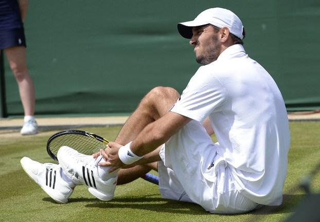 Сербский теннисист Виктор ТРОИЦКИ. Фото AFP Фото AFP