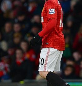 "Нападающий ""Манчестер Юнайтед"" Уэйн РУНИ. Фото AFP Фото AFP"