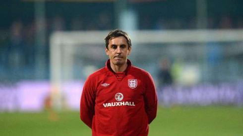 Тренер сборной Англии Гэри НЕВИЛЛ. Фото AFP Фото AFP