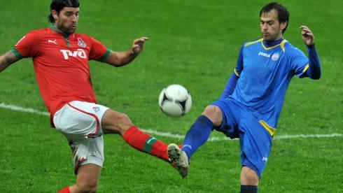 Лазович тренируется в Санкт-Петербурге