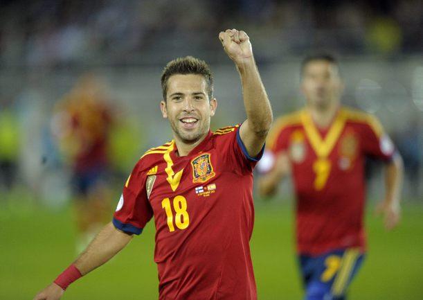 Защитник сборной Испании Хорди АЛЬБА. Фото AFP Фото AFP
