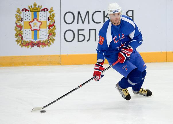 Капитан СКА Илья КОВАЛЬЧУК. Фото Сергея ФЕДОСЕЕВА, ХК СКА/SKA.RU