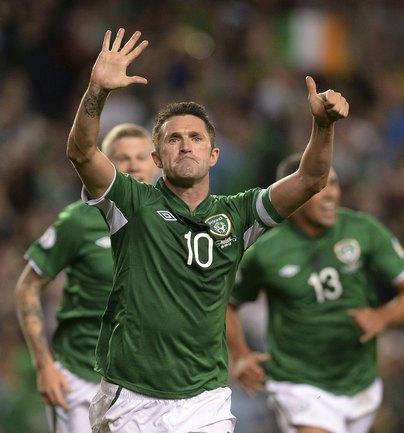 Капитан сборной Ирландии Робби КИН. Фото REUTERS Фото Reuters
