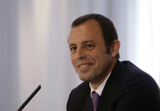 """Президент """"Барселоны"""" Сандро РОССЕЛЬ. Фото AFP Фото AFP"""