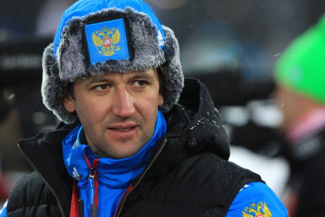 Тренер женской сборной России Павел РОСТОВЦЕВ. Фото Евгения ТУМАШОВА, СБР