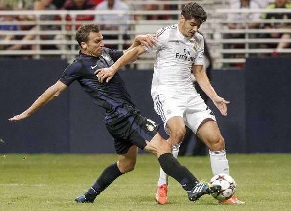 "Нападающий ""Реала"" Альваро МОРАТА. Фото REUTERS Фото Reuters"
