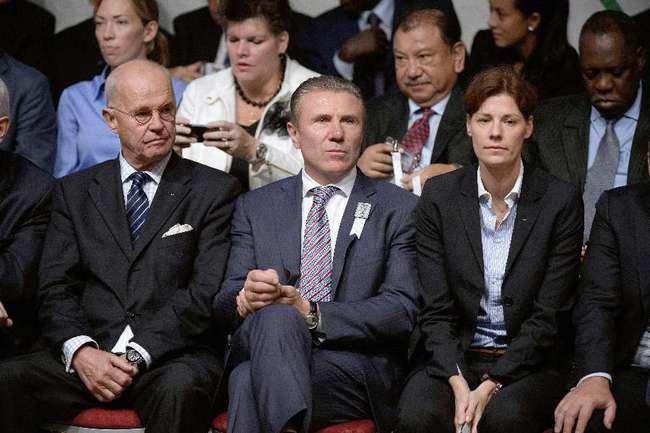 Сегодня. Буэнос-Айрес. Президент украинского Национального олимпийского комитета Сергей БУБКА. Фото AFP Фото AFP