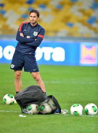 Полузащитник сборной Англии Фрэнк ЛЭМПАРД. Фото AFP Фото AFP