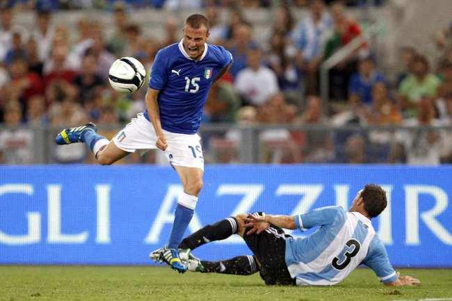 Защитник сборной Италии Лука АНТОНЕЛЛИ. Фото REUTERS Фото Reuters
