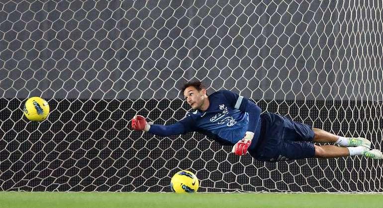 Вратарь сборной Франции Юго ЛЛОРИС. Фото AFP Фото AFP