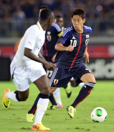 Полузащитник сборной Японии Синдзи КАГАВА. Фото AFP Фото AFP