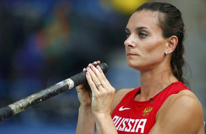Двукратная олимпийская чемпионка Елена ИСИНБАЕВА. Фото REUTERS Фото Reuters