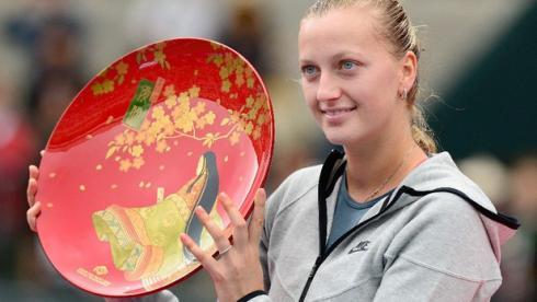 Сегодня. Токио. Петра КВИТОВА - победительница турнира. Фото AFP Фото AFP