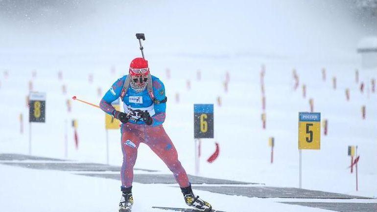 Александр ЛОГИНОВ - чемпион Европы. Фото Союз биатлонистов России