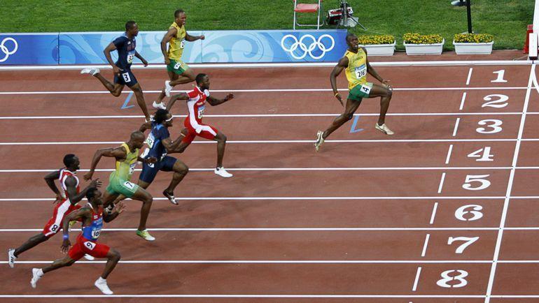 2008 год. Золотой финиш Усэйна БОЛТА на олимпийской 100-метровке: такое повторить невозможно? Фото REUTERS
