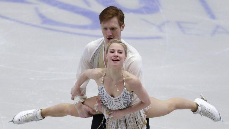 Сегодня. Острава. Евгения ТАРАСОВА и Владимир МОРОЗОВ. Фото Reuters