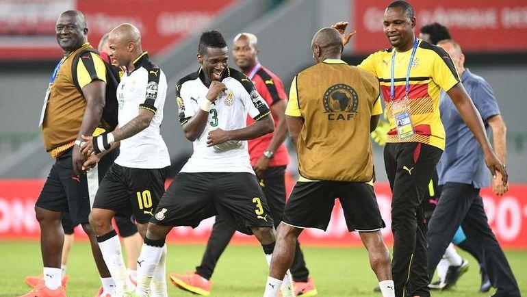 Сборная Ганы стала олицетворением прагматизма на этому турнире. Фото AFP