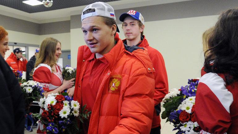 """Кирилл КАПРИЗОВ (слева) и Михаил ВОРОБЬЕВ. Фото Александр ФЕДОРОВ, """"СЭ"""""""