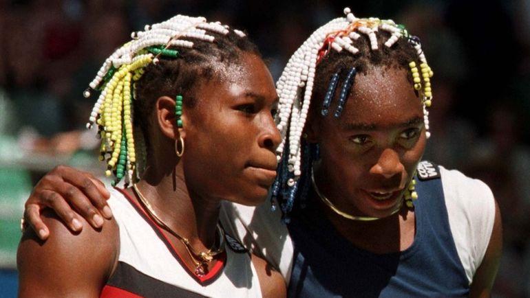 1998 год. Серена (слева) и Винус УИЛЬЯМС. Фото Reuters