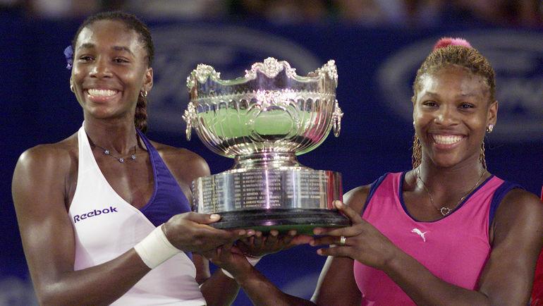 2001 год. Винус (слева) и Серена УИЛЬЯМС. Фото Reuters