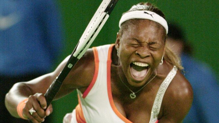 2003 год. Серена УИЛЬЯМС. Фото Reuters