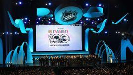 Пятница. Лос-Аджелес. Церемония чествования 100 лучших игроков в истории НХЛ.