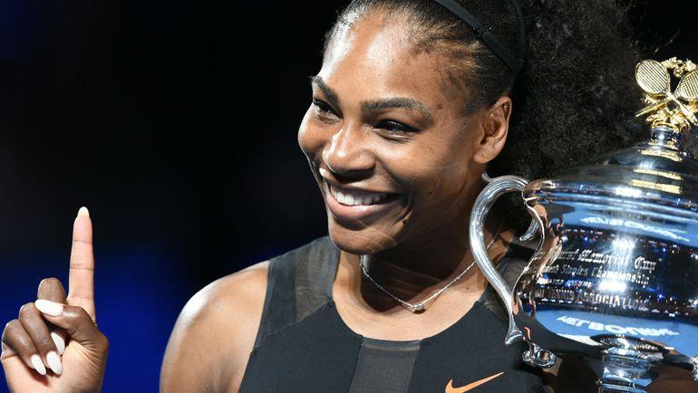 Сегодня. Мельбурн. Серена УИЛЬЯМС в седьмой раз выиграла Australian Open. Фото AFP