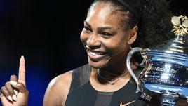 Сегодня. Мельбурн. Серена УИЛЬЯМС в седьмой раз выиграла Australian Open.