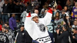 Воскресенье. Лос-Анджелес. Команда Александра ОВЕЧКИНА одержала победу в Матче звезд.