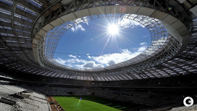 """Стадион """"Лужники"""". Москва."""