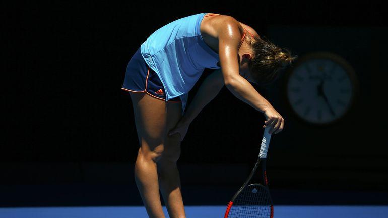 Симона ХАЛЕП проиграла на Открытом чемпионате Австралии уже в первом круге. Фото REUTERS