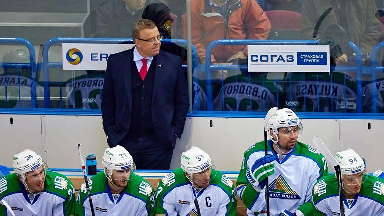 Игорь ЗАХАРКИН со своей командой. Фото photo.khl.ru