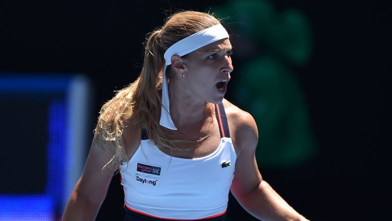 Доминика ЦИБУЛКОВА на Australian Open-2017. Фото AFP