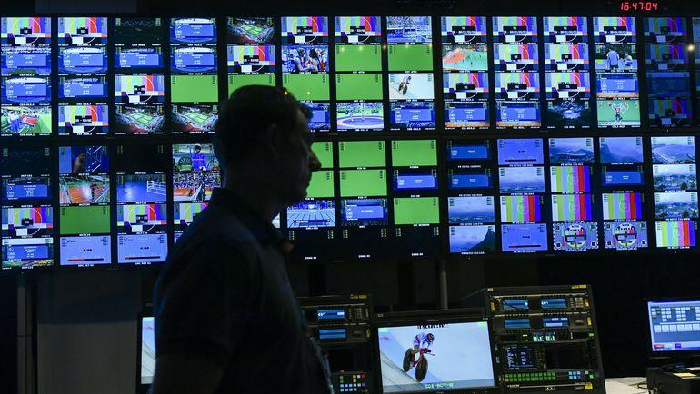 Олимпийские трансляции - то, что в спорте пользуется широким интересом. Фото AFP